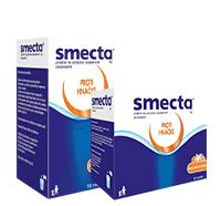 Smecta® vo vreckách s pomarančovo- vanilkovou príchuťou